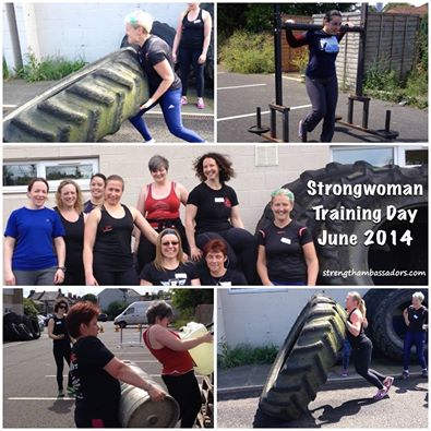 Strongwoman training day June 2014