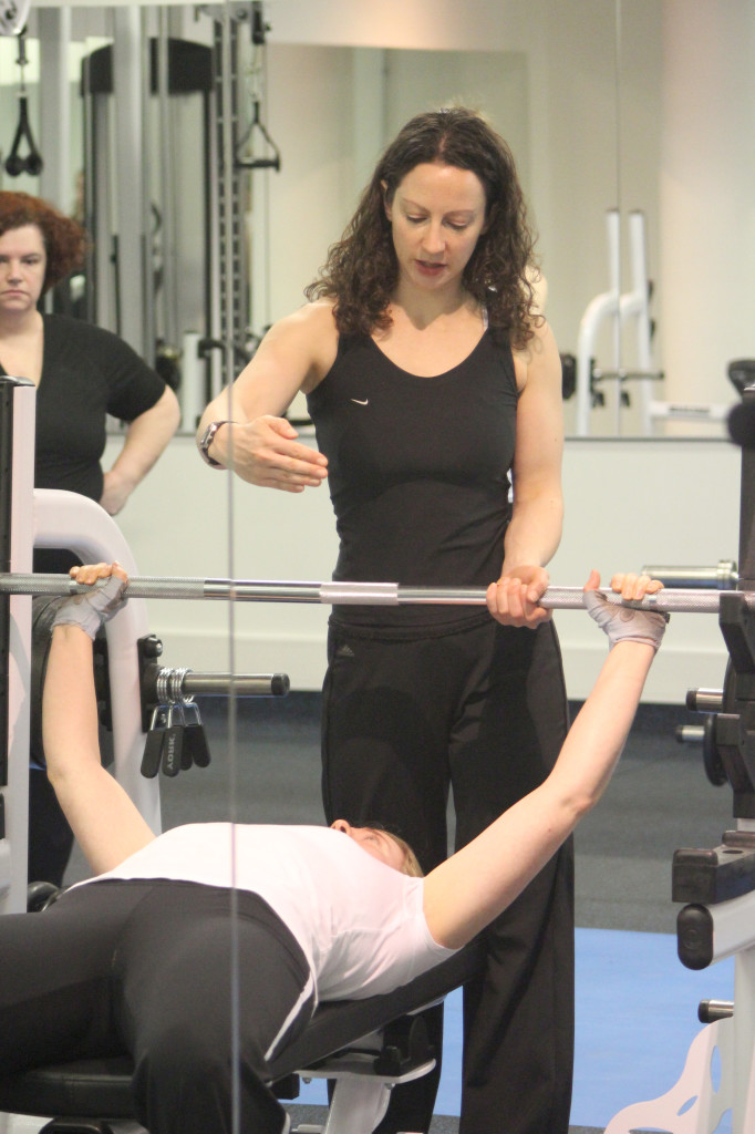 Weight training for women in a friendly supportive environment