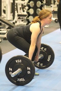 Weight training for women beginners - learning to deadlift
