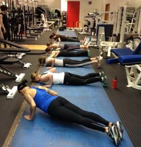 push ups for women