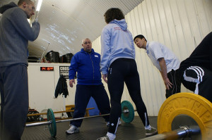 Teaching deadlift