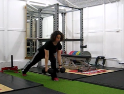 Lunges for glutes and hamstrings