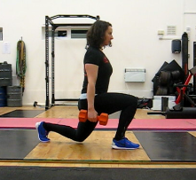 Split squat - even position