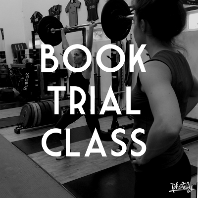 Book trial class in olympic lifting for beginners