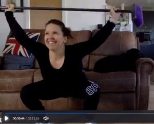 Learning the olympic lifts at home