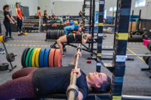 Powerlifting and weightlifting gym in London