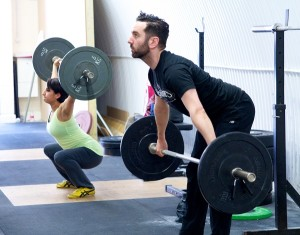 Olympic weightlifting class