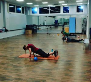 Weight training class for women in Dulwich